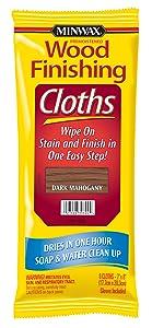 Minwax 308240000 Wood Finishing Clothes, Dark Mahogany