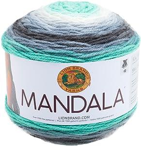 Lion Brand Yarn 525-217 Mandala Yarn, Genie