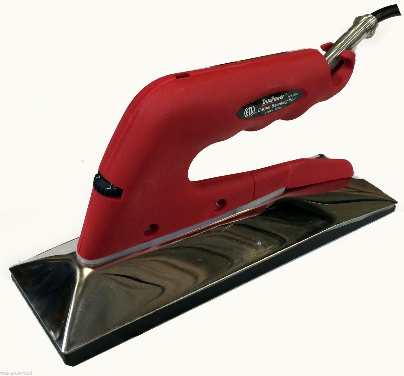 10'' Carpet Seaming Iron - 800 Watts, #4079