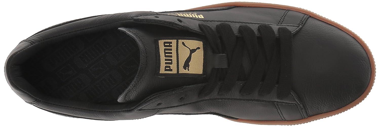 PUMA Men's Basket US Classic Turnschuhe, schwarz-Metallic Gold, 10 M US Basket d9e34e