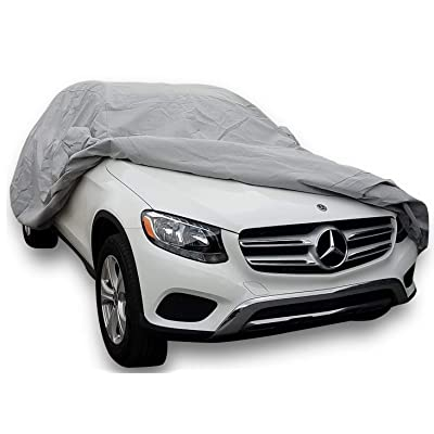 DMB Pro Outdoor CAR Cover for 2015-2020 Mercedes Benz GLC 300 350e AMG GLC 43 63 SUV Outdoor Car Body Cover Custom Fit All Weather Waterproof Heavy Duty: Automotive
