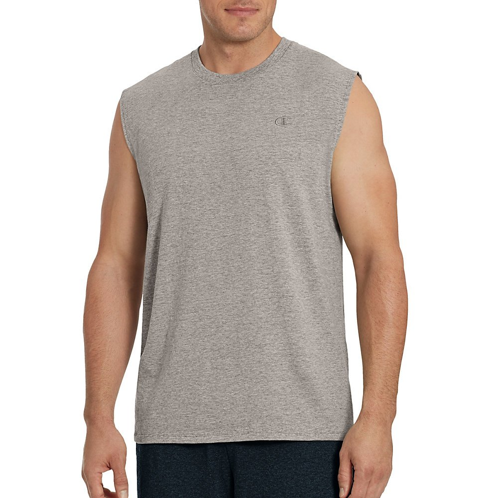 d794cf711607 Champion Men s Classic Jersey Muscle Tee Shirt at Amazon Men s Clothing  store