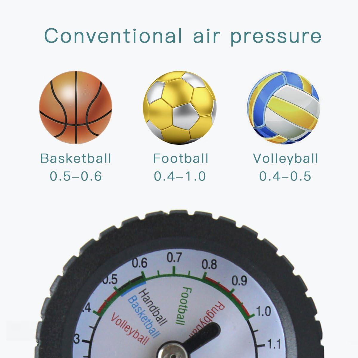 ADESUGATA Bola Medidor de presión Manómetro de presión de ...