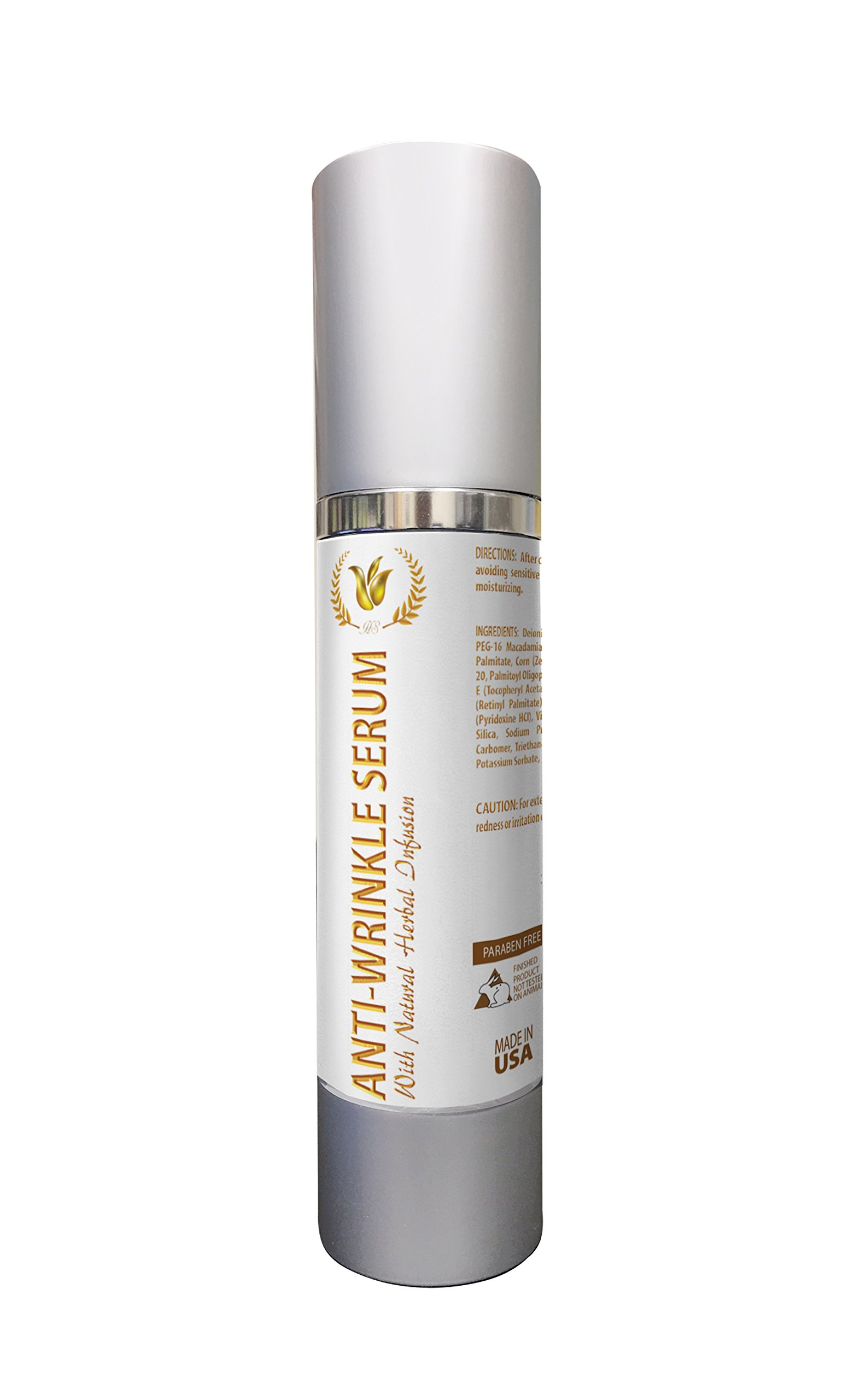 Anti wrinkle serum best seller - ANTI-WRINKLE SERUM - Products for women - 1 Bottle by Health Solution Prime