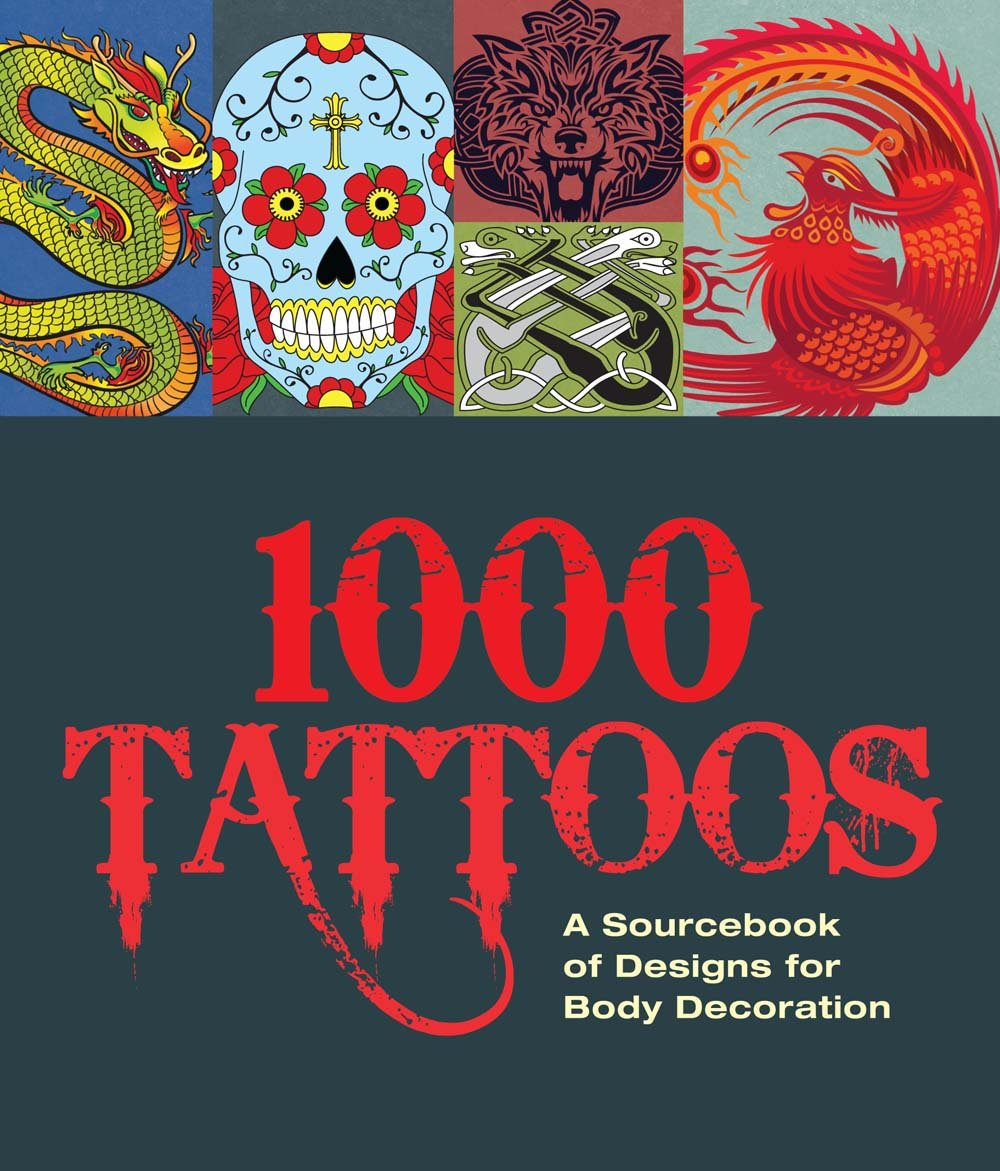 1000 Tattoos Sourcebook Designs Decoration product image