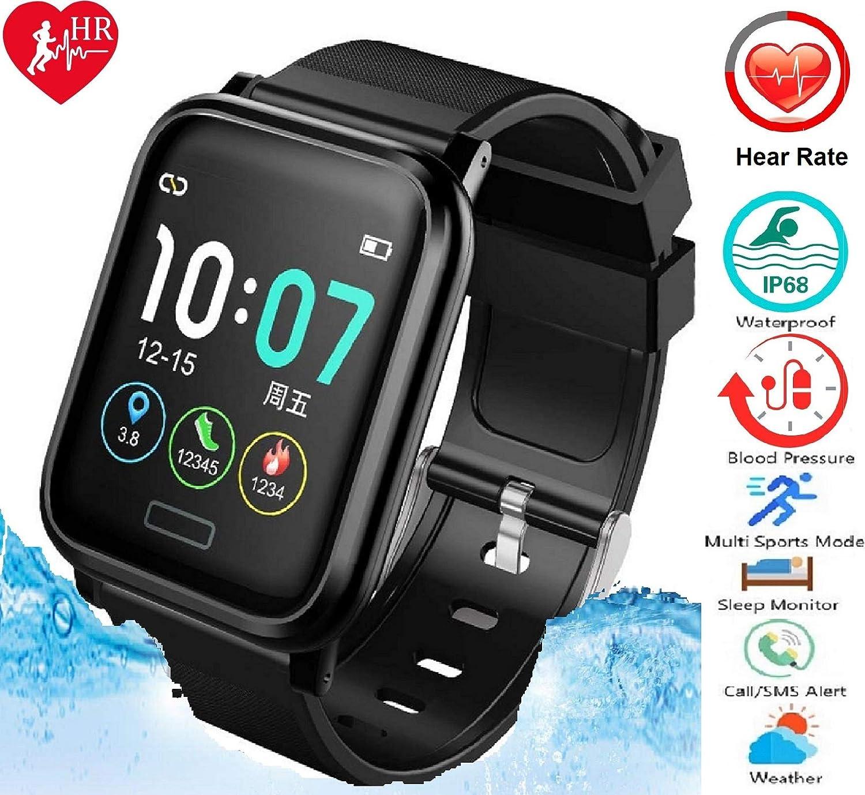 N3 ZELEK Smart Watch Reloj Inteligente Mujer Hombre Pulsera Actividad Inteligente Reloj Deportivo Reloj Hombre BATERÍA Grande 260mAh Impermeable Reloj ...