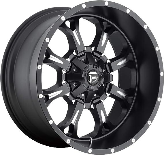 Fuel-D56120001747 Matte Black//Machine Authorized Dealer 20x10 Fuel Offroad Wheels Crush 8x170-18 Offset 125.1 Hub