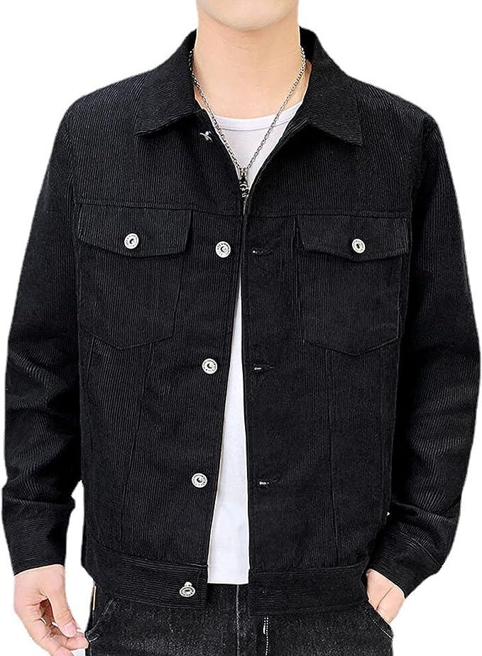 デニム ジャケット メンズ コート ジャケット 大きいサイズ シンプル 長袖 カジュアル 無地 ゆったり トップス アウター 薄手 ショートコート かっこいい おしゃれ 春服 秋服