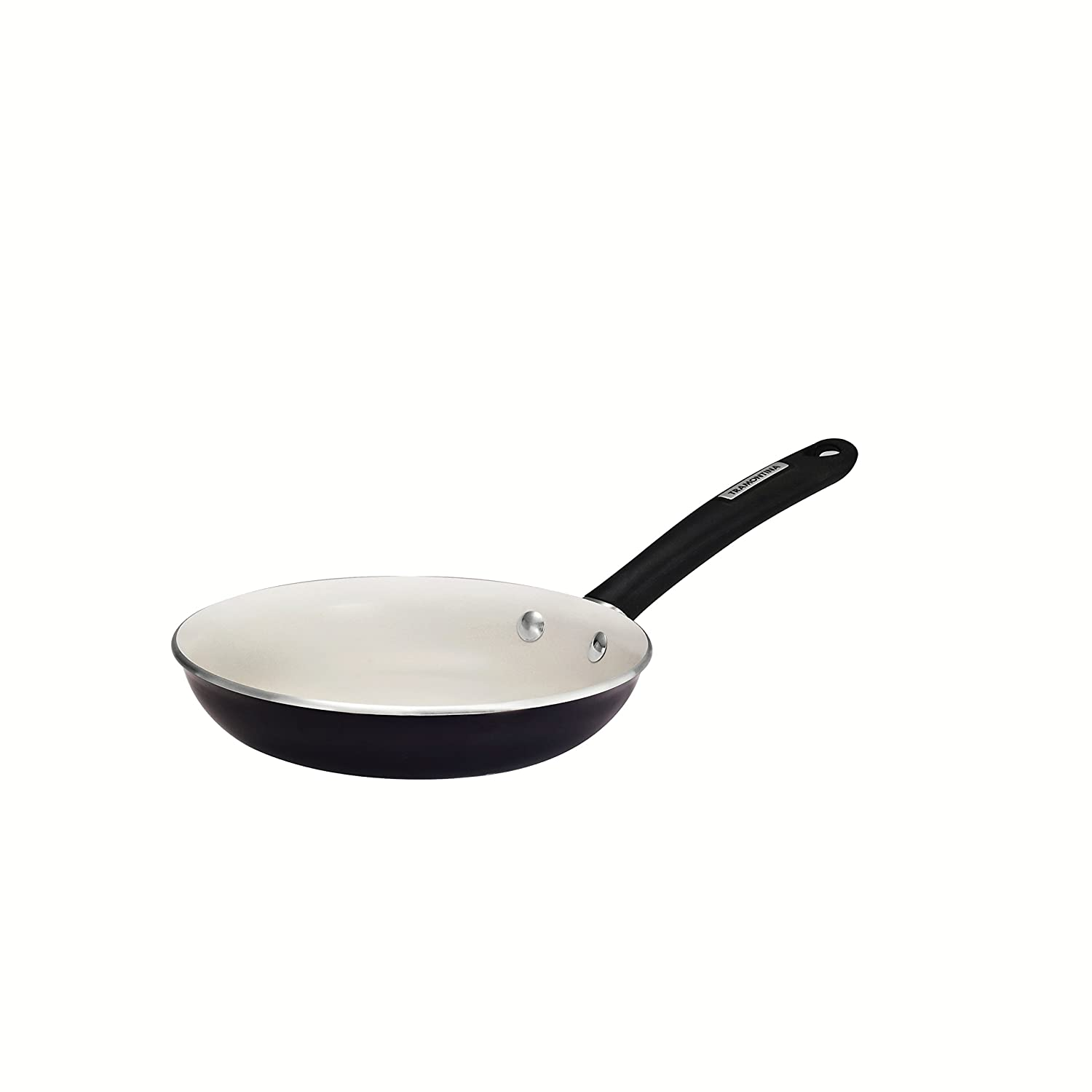 Amazon.com: Tramontina 80151/040DS Gourmet Porcelain Enamel Heavy-Gauge Aluminum Fry Pan, 8-Inch, Black Cherry: Skillets: Kitchen & Dining
