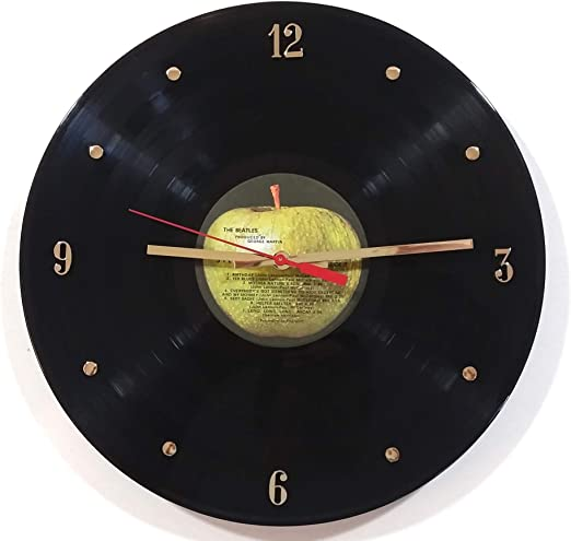 Gift for Kids and Adults Unique Gift for Him and Her Star Trek Gift for Fan Vinyl Record Wall Clock Wall Decor Ideas for any Space