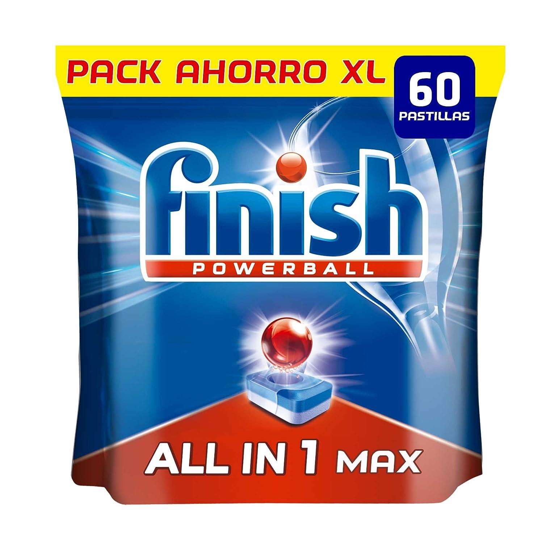 Finish Todo en 1 Max Regular Pastillas para Lavavajillas - 60 ...