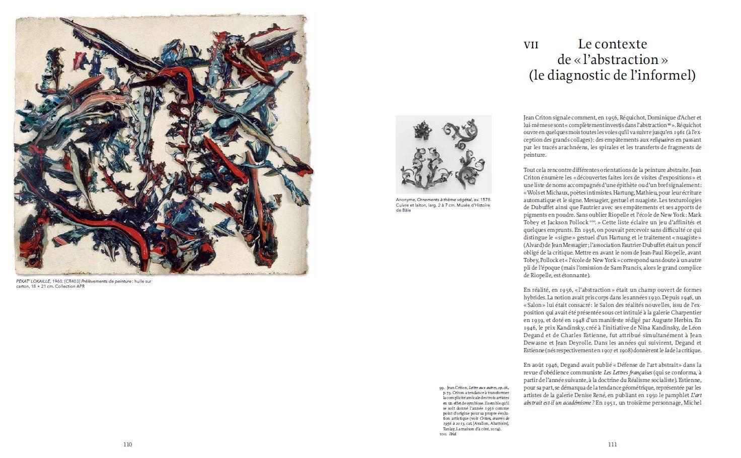 Bernard Réquichot: Zones sensibles (Art) (French Edition): Jean ...