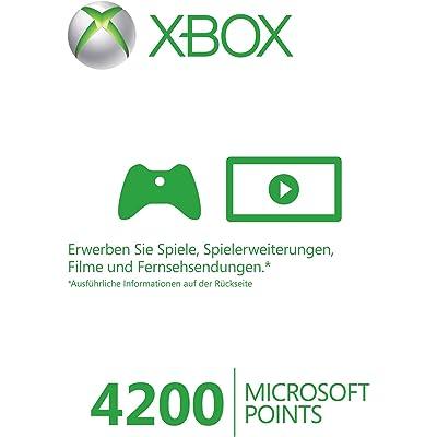 Xbox 360 - Live Points Card 4200 [Importación alemana]