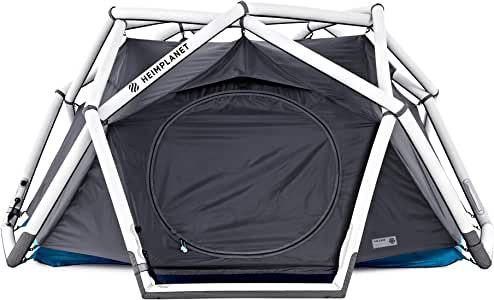 HEIMPLANET Original | The Cave Dome Tent | Inflatable Pop Up Tent - Set Up in Seconds | Waterproof Outdoor Camping - 5000Mm Water Column