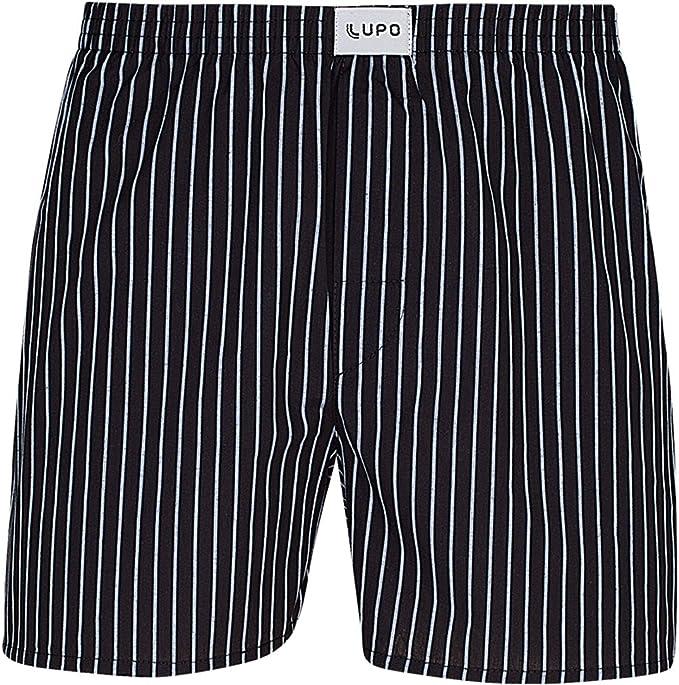 Lupo Mens Pattern Cotton Boxer Shorts