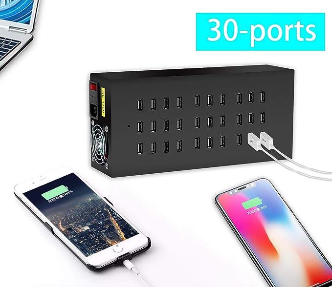 Amazon.com: Estación de carga USB Dock, estación de carga ...