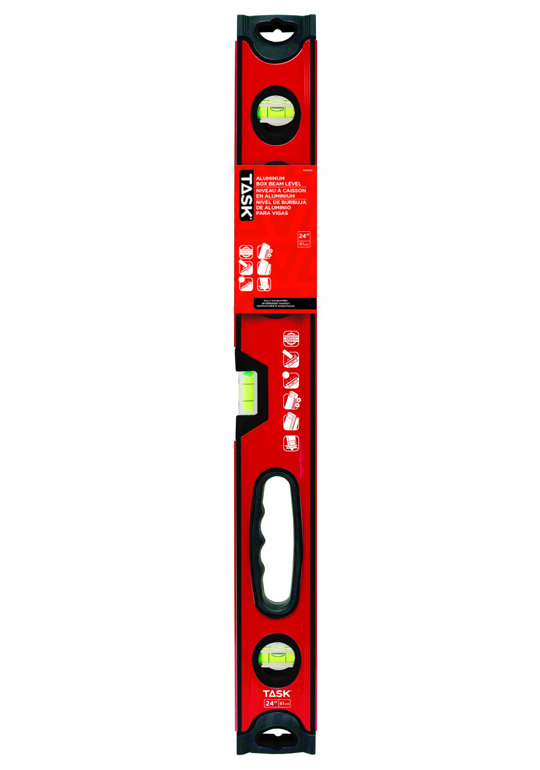 Task Tools T58032 24-Inch Box Beam Level by Task Tools (Image #1)