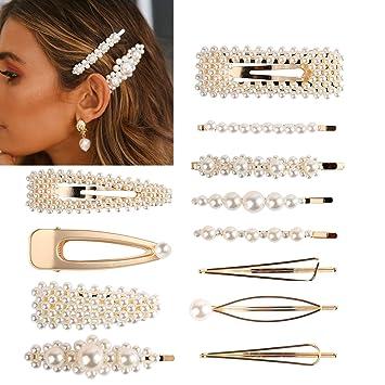 Damen Einfache Metall Haarnadel Haarspange Haarspangen Headwear Zubehör Dekor //