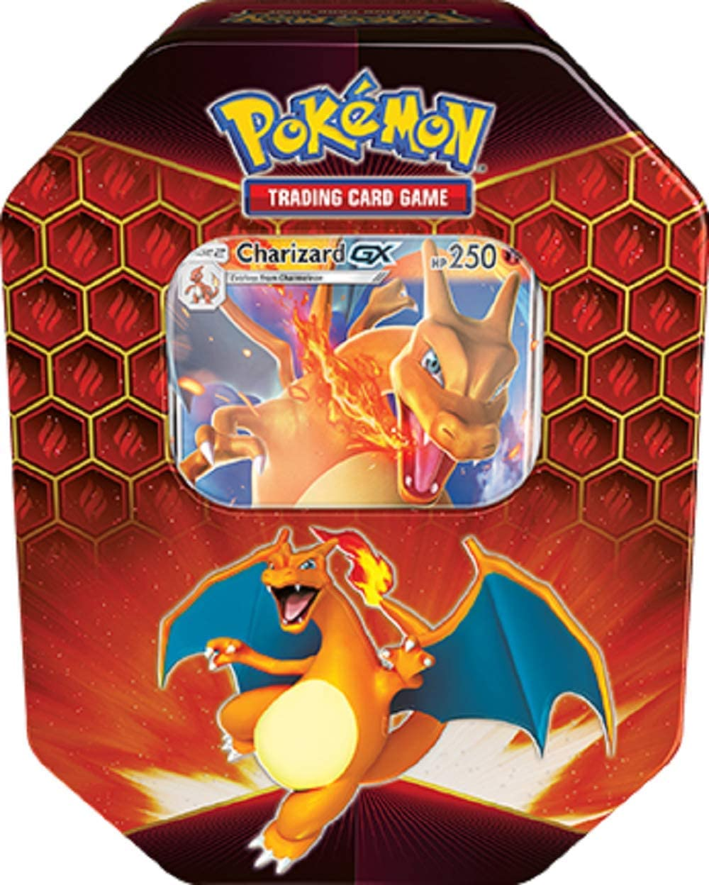 DAMAGED Pokemon Hidden Fates Tin Raichu GX Inc Boosters /& Collectors Promo Card