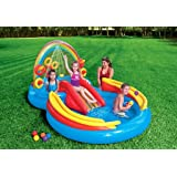 Intex Rainbow Ring Play Center, Multi-Colour, Ages 3 Years and Older, 57453