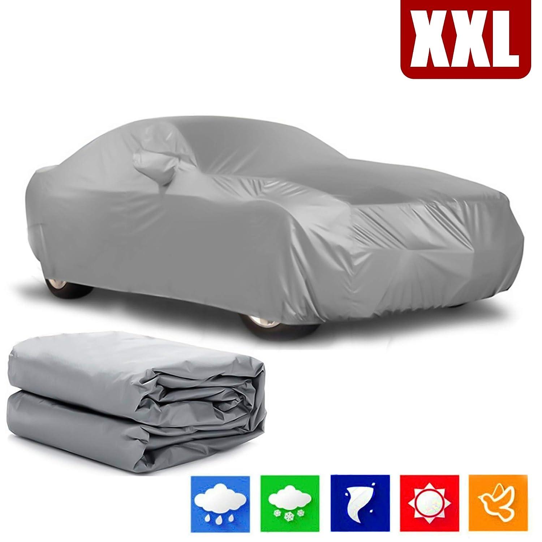 Alaskaprint Car Cover Car Cover Waterproof Dustproof Snow Protection Sun Protection Full Garage Tarpaulin