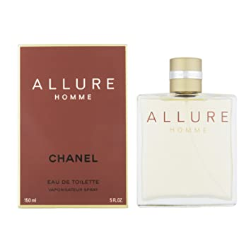 Amazon.com : Chanel Allure Homme Eau De Toilette Spray 150ml / 5 Oz : Beauty
