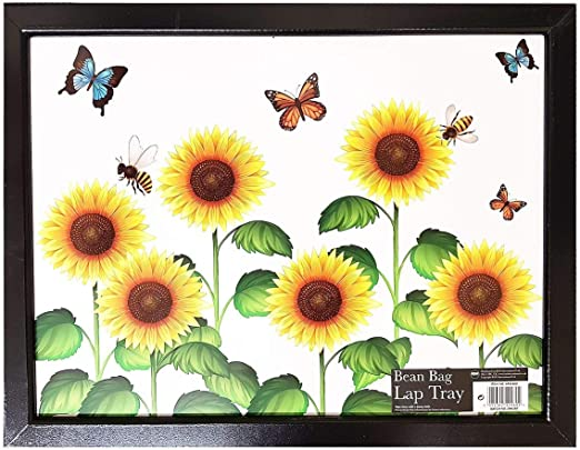 Butterfly Cushioned Home Food Serving Lap Tray Breakfast Bed TV Dinner