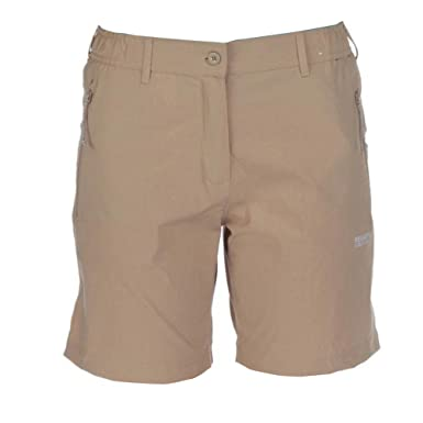 Regatta Great Outdoors Womens/Ladies Fellwalk II Stretch Shorts (6) (Nutmeg Cream