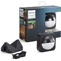 Philips Hue bewegingssensor Outdoor - IP54 - Activeer je Hue Lampen bij Beweging - Met Ingebouwde Lichtsensor - Overal…