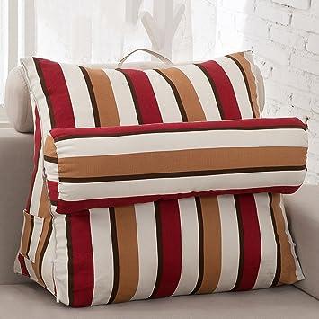 WofUL - Cuña de espuma para cama con funda acolchada, cojín ...