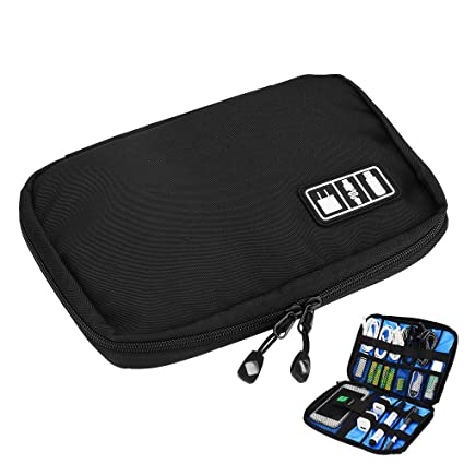 486697f780 Travel Cable Organizer Bag Pouch Electronics Accessories Cases for Hard  Drives