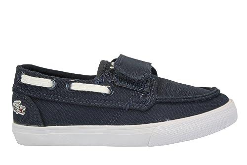 Lacoste - Zapatillas de Deporte de según descripción para niño Azul Azul: Amazon.es: Zapatos y complementos