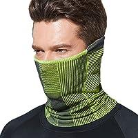 TSLA Unisex (Pack of 1, 2) Winter Neck Warmer Gaiter, Lightweight Half Balaclava, Windproof Face Mask for Ski Snowboard…