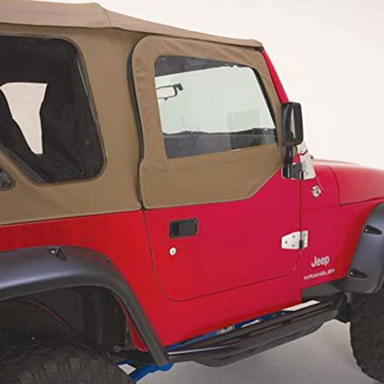 RAMPAGE PRODUCTS 68117 Complete Soft Top With Frame U0026 Hardware For 1987 1995  Jeep Wrangler