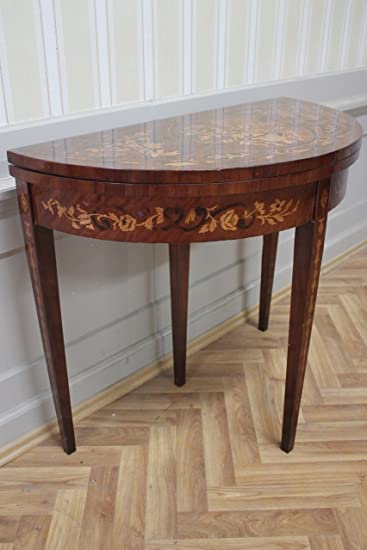Barocco Beistell - tavolo Tavolo pieghevole MkTa0019 intarsi in ...