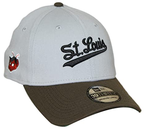 2e3053ff2fd33 St. Louis Browns New Era MLB 39THIRTY Cooperstown  quot Classic quot  Flex  Fit Hat