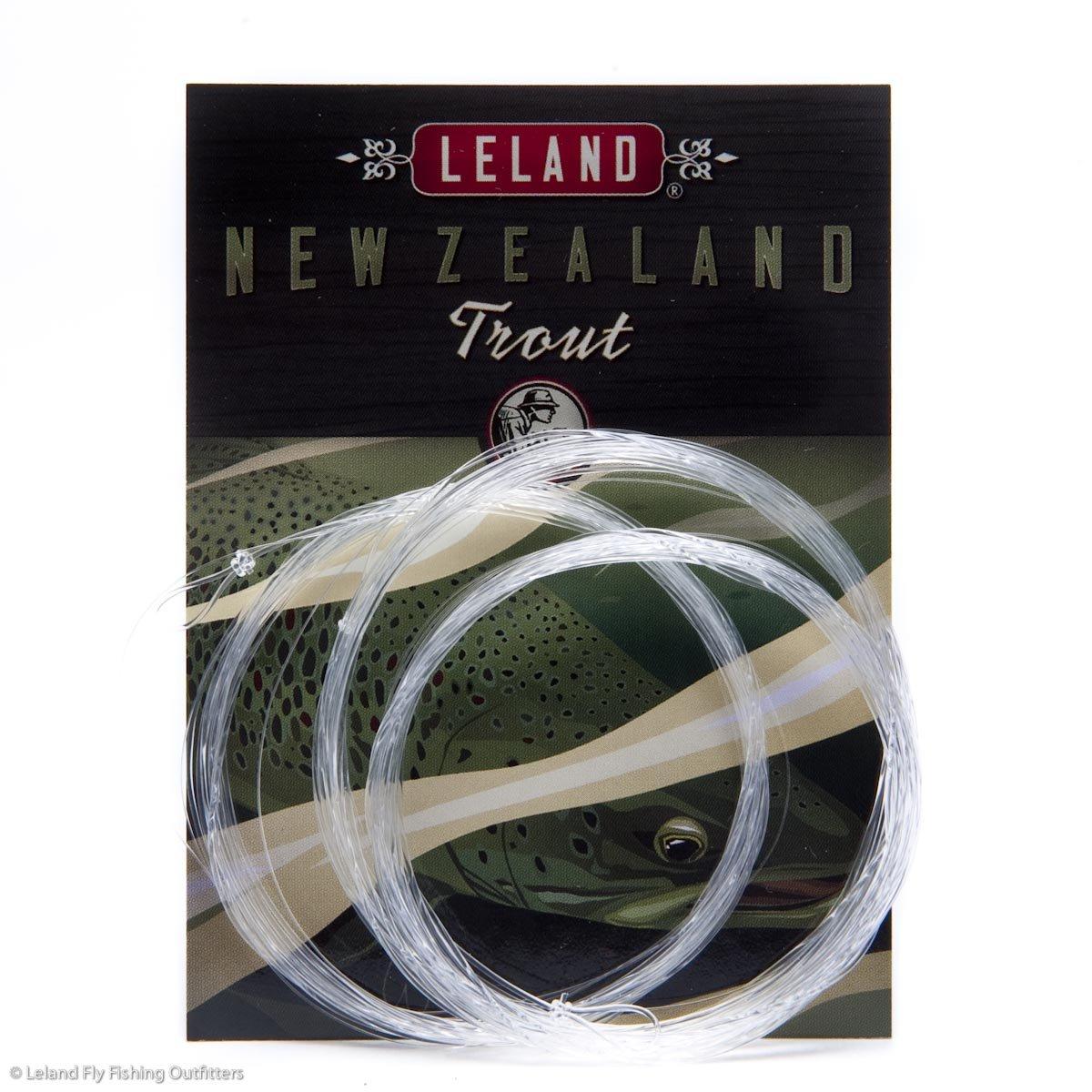 Lelandロッド会社ニュージーランドトラウト釣り引出線12 ' 4 x (9-pack) The Best市場に引出線。 B01AKS584E