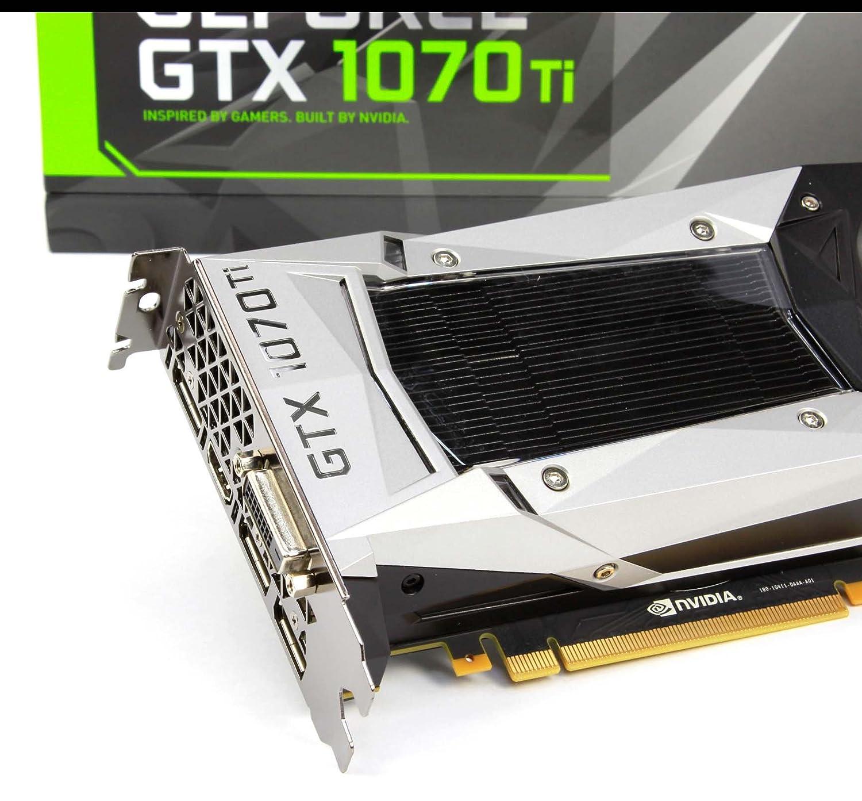 Nvidia Geforce GTX 1070 Ti 8 GB GDDR5 Tarjeta gráfica Gaming ...