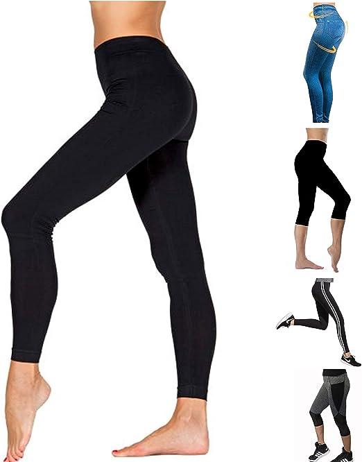 Leggins Donna Sportivi Per Fitness Nuova Collezione Leggings Per Palestra Yoga Elasticizzati Eleganti Neri e Colorati In Cotone Vari Modelli Anche a
