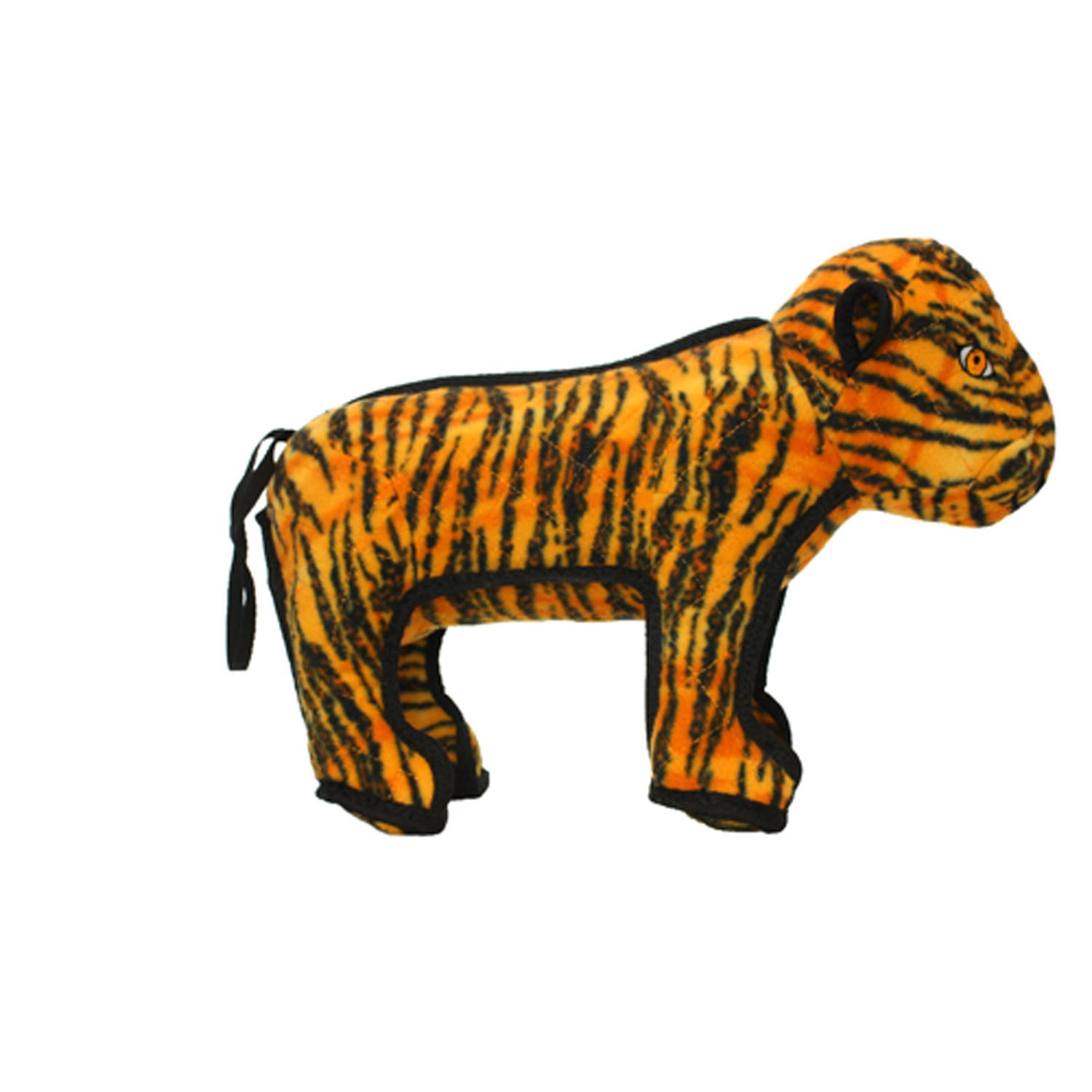 Large Tuffy Zoo Series Tatters The Tiger Toy