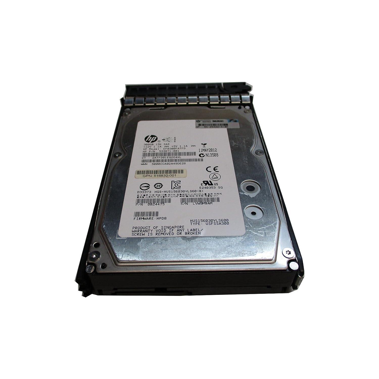 "HP  600GB 15K SAS 3.5/"" DUAL PORT 6G ENT HDD 652620-B21 653952-001"