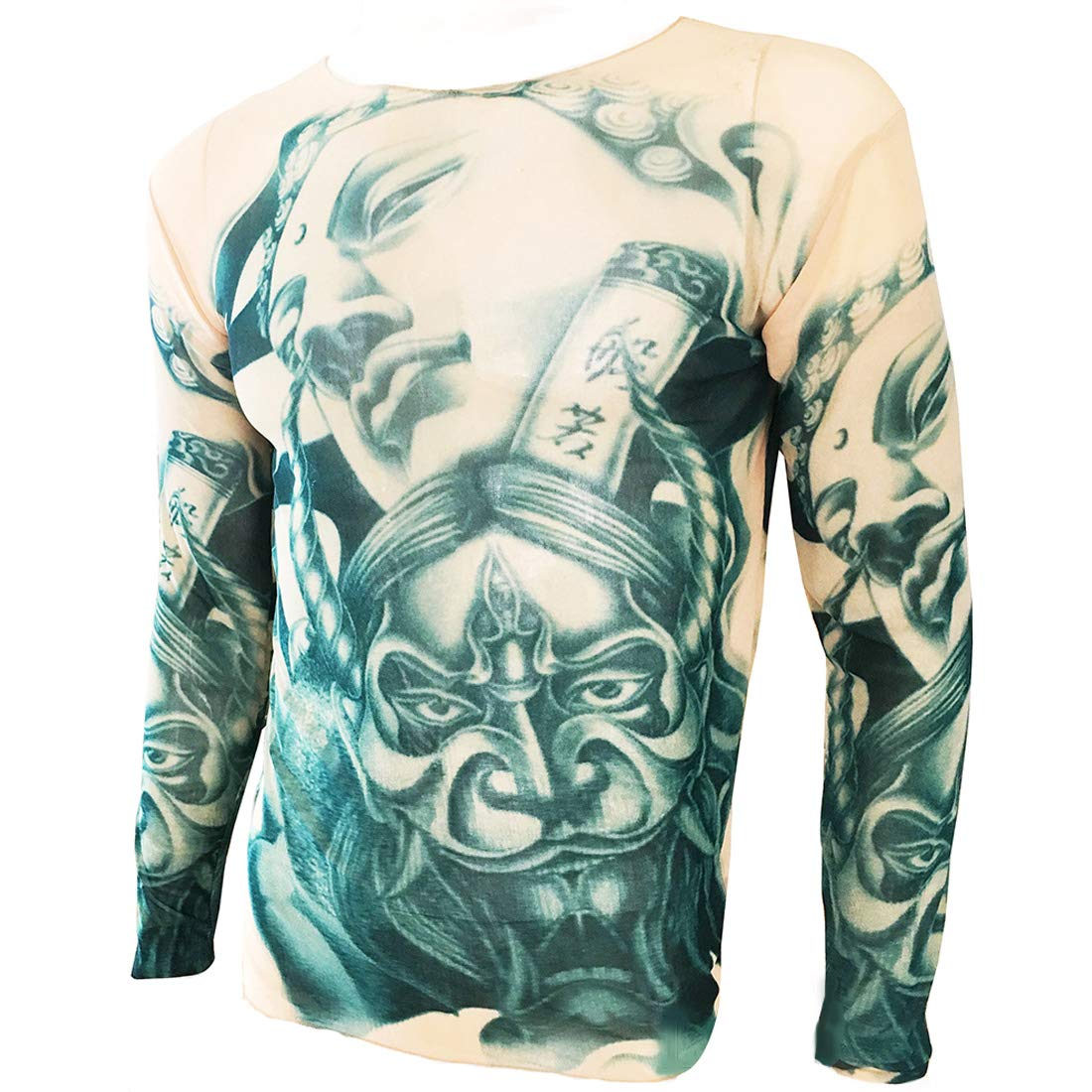 OMAS Diablo Estatua Tatuaje Deporte Camiseta Tatuaje Ciclista ...