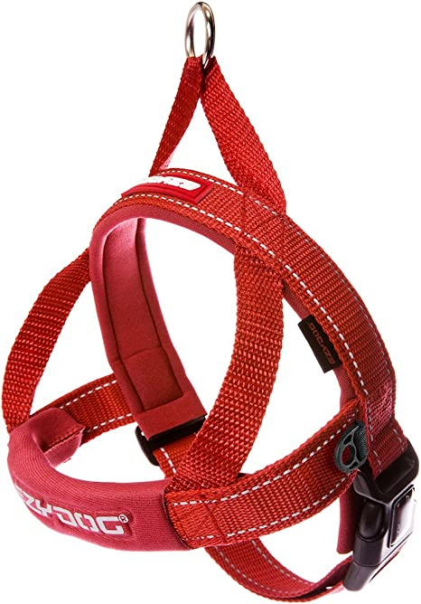 EzyDog Quick Fit Custom Fit Adjustable Dog Harness   Chewy