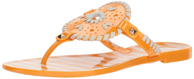 3770a2211738 Amazon.com  Jack Rogers Women s Striped Georgica Jelly Flat Sandal  Shoes