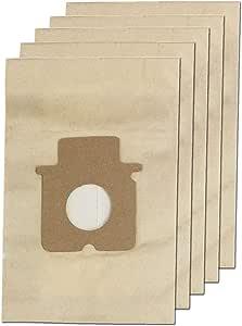 Paquete de 5 bolsas para aspiradoras Panasonic de la marca Spares2go: Amazon.es: Hogar