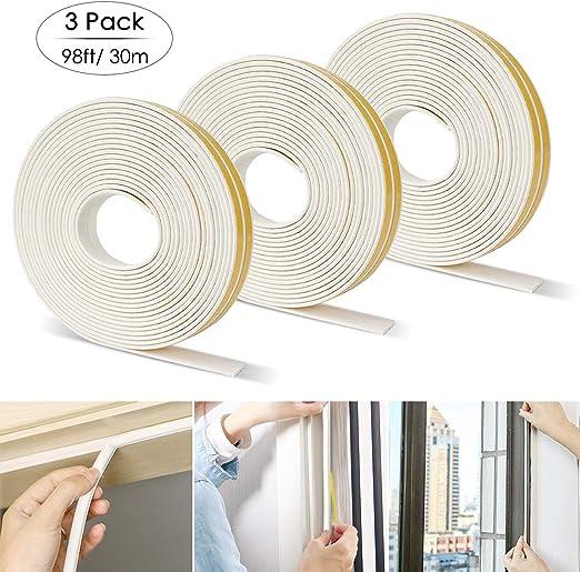 9*6mm Window Cabinet Door Sound Weather Proof Sealing Strip D Type 5m