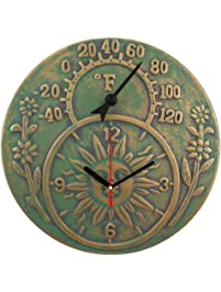 Amazon Com Outdoor Clocks Patio Lawn Amp Garden