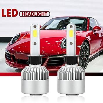 Amazon Com H1 Led Headlight Conversion Kit Auto Car Led Headlamp