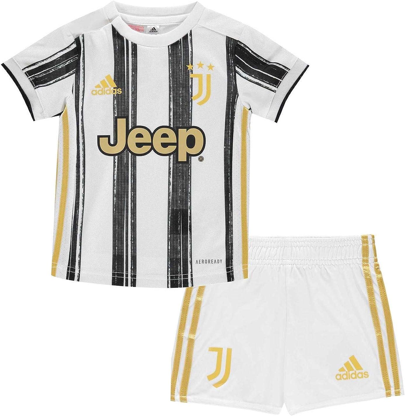 amazon com adidas juventus baby home kit 2020 21 3 6 months white shoes amazon com