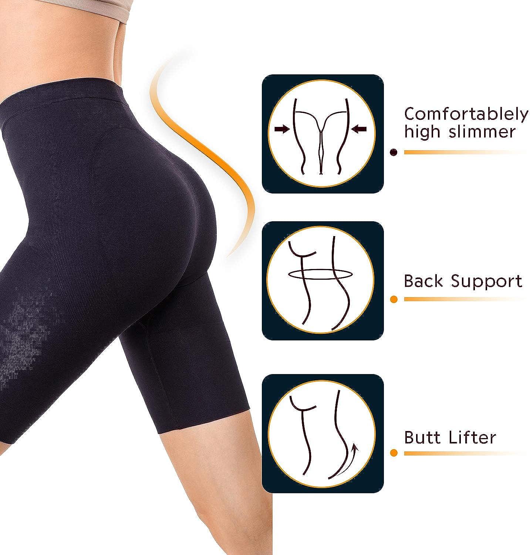 MD Womens Thigh Shapewear High Waist Mid Thigh Shaper Slimmer Power Shorts